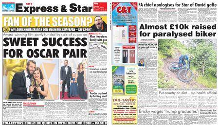 Express and Star City Edition – March 06, 2018