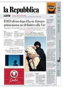 la Repubblica - 12 Febbraio 2019