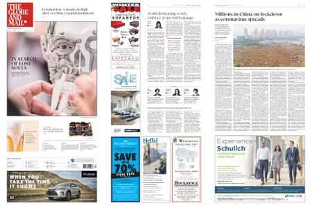 The Globe and Mail – January 25, 2020