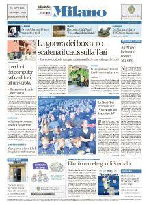 la Repubblica Milano - 8 Novembre 2017