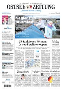 Ostsee Zeitung Wolgast - 24. Oktober 2018