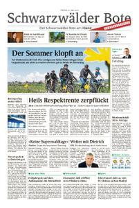 Schwarzwälder Bote Sulz - 31. Mai 2019