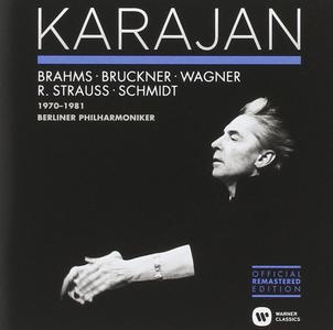 Herbert Von Karajan - Brahms, Bruckner etc. - Orchestral Recordings From Germany & Austria (1970-1981) (2014)