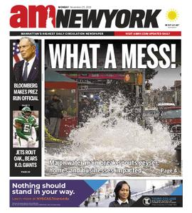 AM New York - November 25, 2019