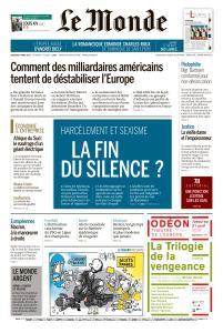 Le Monde du Vendredi 8 Mars 2019