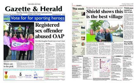 Gazette & Herald – October 05, 2017