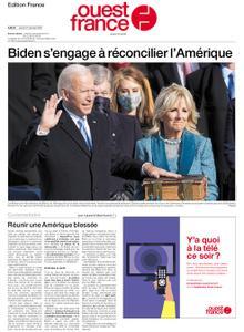 Ouest-France Édition France – 21 janvier 2021