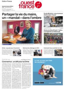 Ouest-France Édition France – 28 janvier 2020