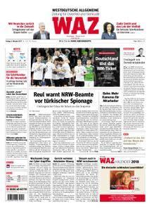 WAZ Westdeutsche Allgemeine Zeitung Oberhausen-Sterkrade - 06. Oktober 2017