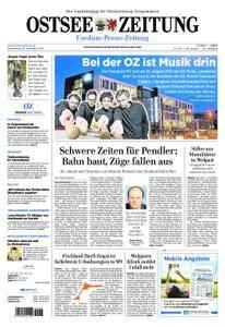 Ostsee Zeitung Wolgast - 30. November 2017