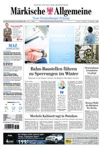 Neue Oranienburger Zeitung - 27. Oktober 2018