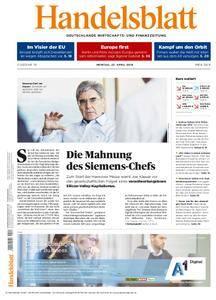 Handelsblatt - 23. April 2018