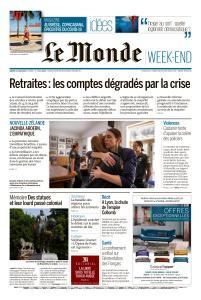 Le Monde du Samedi 13 Juin 2020