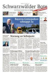Schwarzwälder Bote Hechingen - 28. August 2018