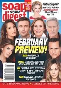 Soap Opera Digest - February 04, 2019