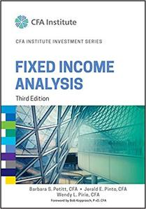 Fixed Income Analysis  Ed 3