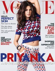 VOGUE India - April 01, 2016