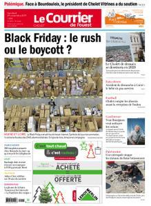 Le Courrier de l'Ouest Cholet – 29 novembre 2019