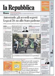 la Repubblica - 28 Agosto 2018