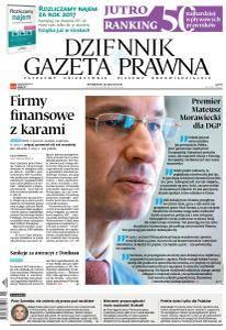 Dziennik Gazeta Prawna - 29 Stycznia 2018