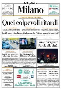 la Repubblica Milano - 10 Aprile 2020