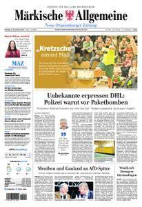 Neue Oranienburger Zeitung - 04. Dezember 2017