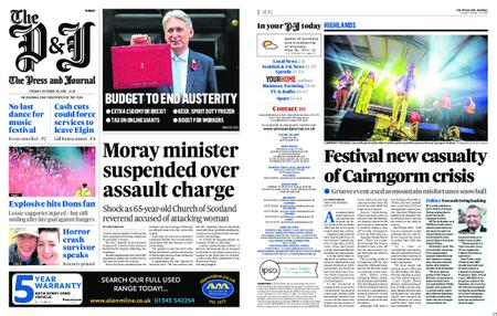 The Press and Journal Moray – October 30, 2018
