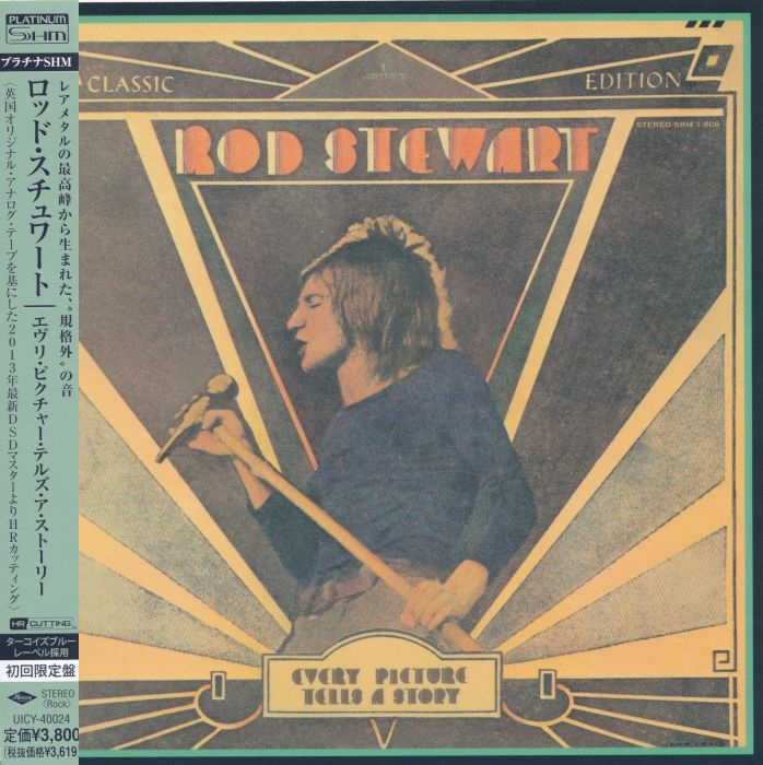 Rod Stewart - Every Picture Tells A Story (1971) {Japan Platinum SHM-CD}