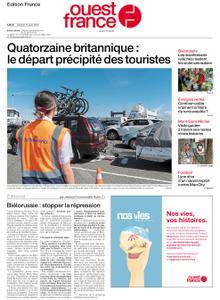 Ouest-France Édition France – 15 août 2020