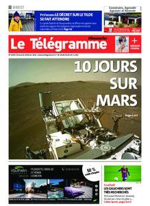 Le Télégramme Brest Abers Iroise – 28 février 2021