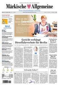 Neue Oranienburger Zeitung - 10. Oktober 2018