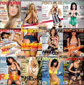 Penthouse USA - Full Year 2007 Issues Collection