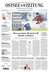 Ostsee Zeitung Wolgast - 01. November 2018