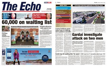 Evening Echo – August 18, 2020
