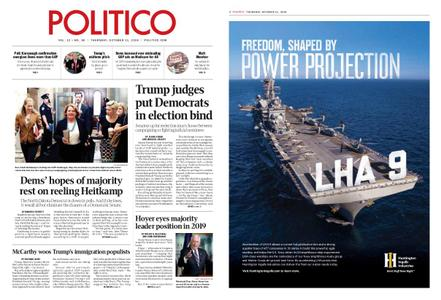 Politico – October 11, 2018