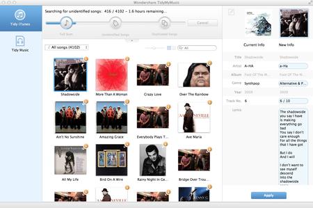 Wondershare TidyMyMusic 1.5.0.1