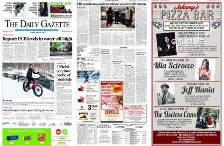The Daily Gazette – February 01, 2018