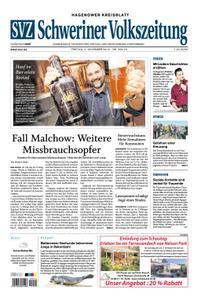 Schweriner Volkszeitung Hagenower Kreisblatt - 02. November 2018