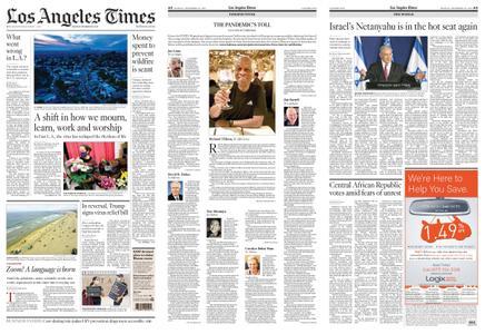 Los Angeles Times – December 28, 2020