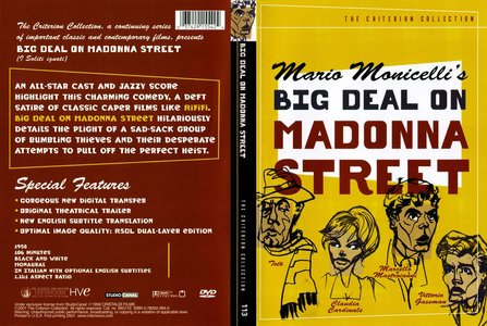 Big Deal on Madonna Street (1958) [The Criterion Collection #113]