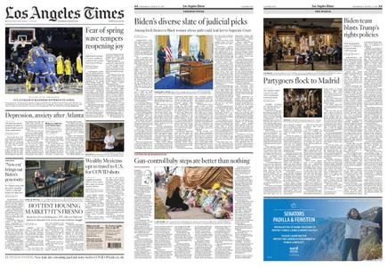Los Angeles Times – March 31, 2021