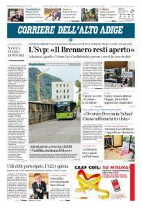 Corriere dell'Alto Adige - 5 Luglio 2018