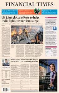 Financial Times Middle East - April 27, 2021