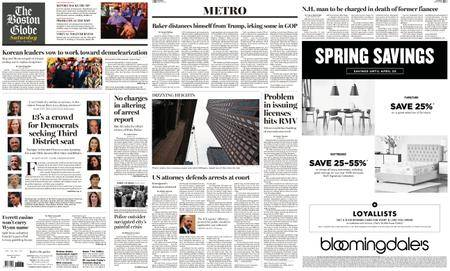 The Boston Globe – April 28, 2018