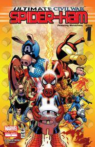 Ultimate Civil War - Spider-Ham 01 (2007)