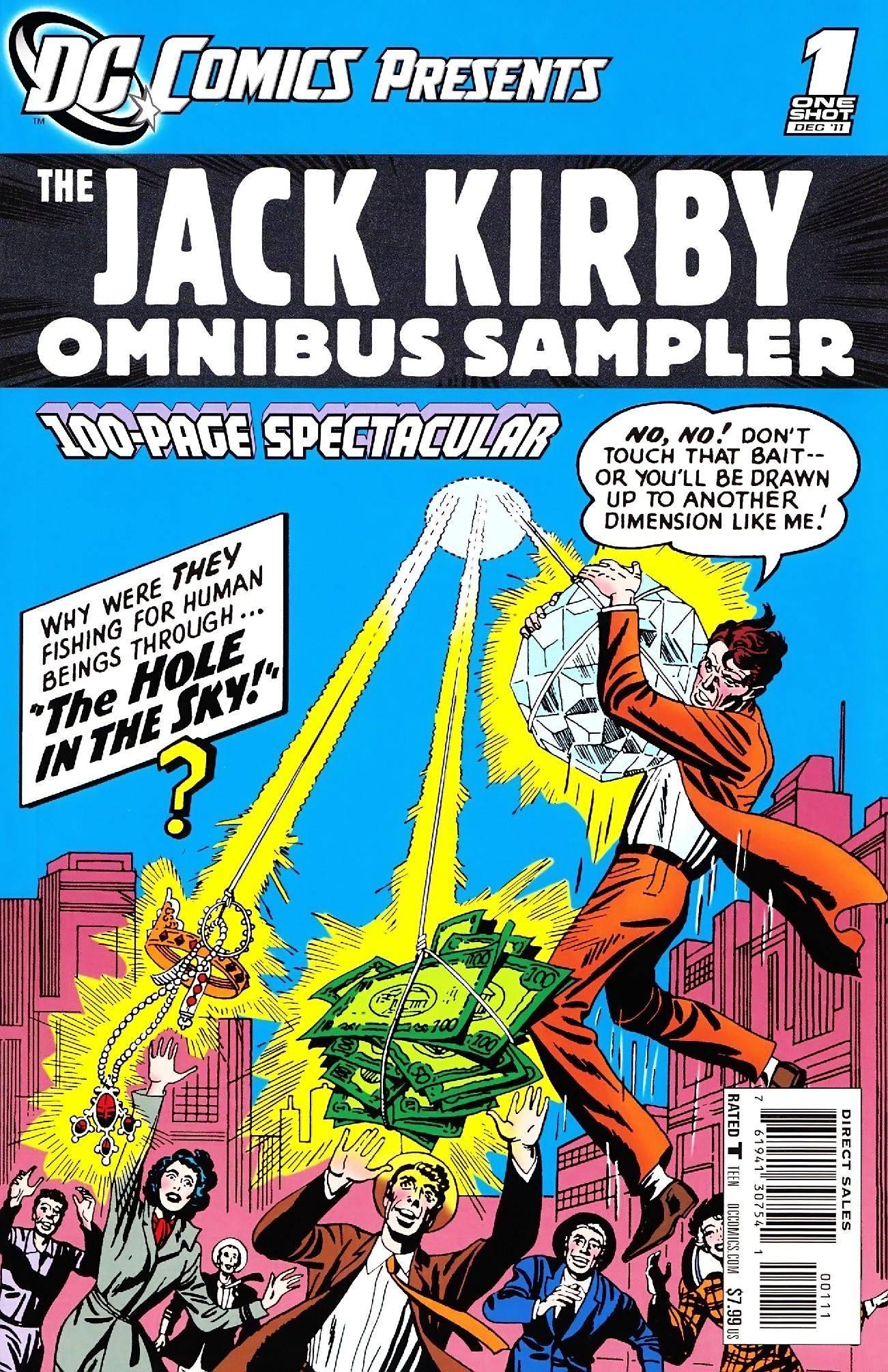 DC Comics Presents - Jack Kirby Omnibus Sampler 001 2011 102p re-em-dcp