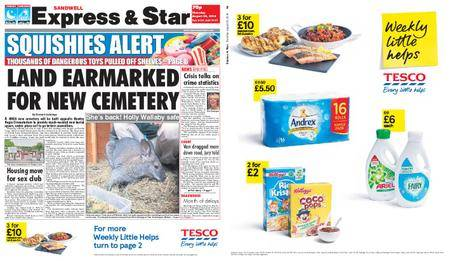 Express and Star Sandwell Edition – August 30, 2018