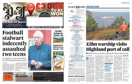 The Press and Journal Moray – October 05, 2019