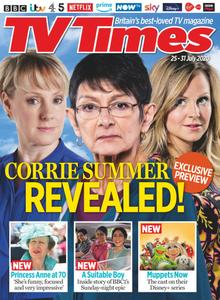 TV Times - 25 July 2020