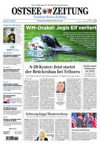 Ostsee Zeitung Wolgast - 13. Juni 2018